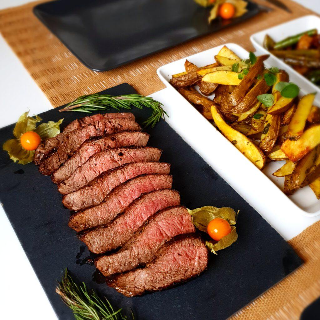 Naudan flat iron steak